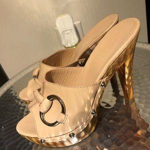Gucci mules.
